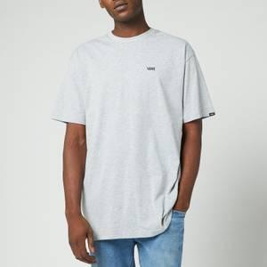 Vans Men's Chest Logo T-Shirt - Athletic Grey/Black