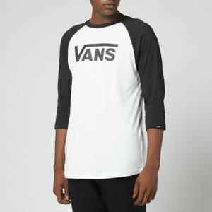 Vans Men's Classic Raglan Top - White/Black