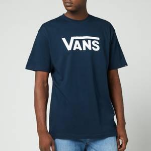 Vans Men's Classic Crewneck T-Shirt - Navy/White