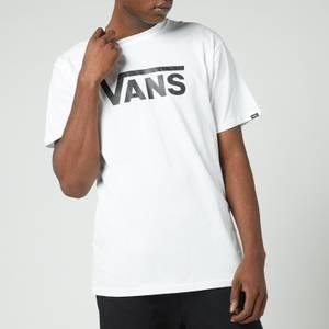 Vans Men's Classic Crewneck T-Shirt - White/Black
