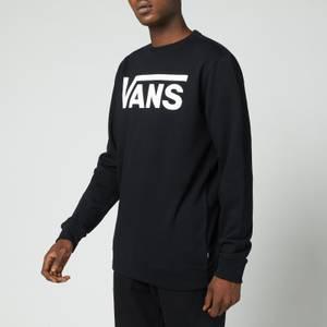 Vans Men's Classic Crewneck Sweatshirt - Black/White
