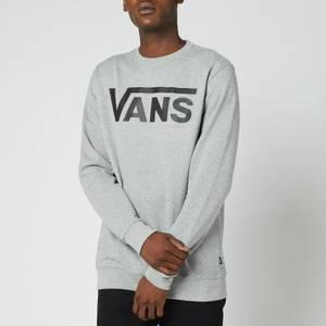Vans Men's Classic Crewneck Sweatshirt - Cement Heather/Black