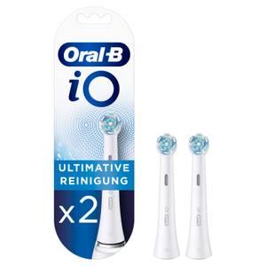 Oral-B iO Ultimative Reinigung Aufsteckbürsten, 2 Stück