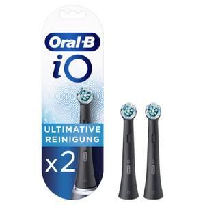 Oral-B iO Black Ultimative Reinigung Aufsteckbürsten, 2 Stück