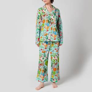 Karen Mabon Women's Karen Mabon X Peter Rabbit Pyjamas - Sky Blue