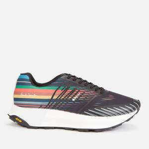 Paul Smith Men's Sierra Running Style Trainers - Anthracite