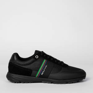 PS Paul Smith Men's Huey Running Style Trainers - Black/Black