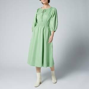 Kitri Women's Medora Green Cotton Dress - Green