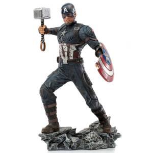 Iron Studios The Infinity Saga BDS Art Scale Statue 1/10 Captain America Ultimate 21 cm