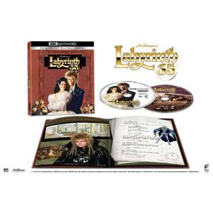 Labyrinth - Zavvi Exclusive 35th Anniversary 4K Ultra HD (Includes Blu-ray)