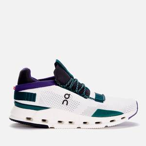 ON Women's Cloudnova Running Trainers - White/Violet