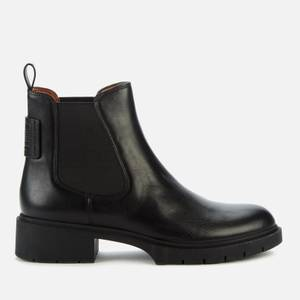 Coach Women's Lyden Leather Chelsea Boots - Black