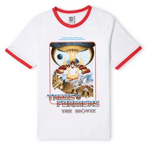 Matt Ferguson x Transformers 1986 Unisex Ringer T-Shirt - White/Red