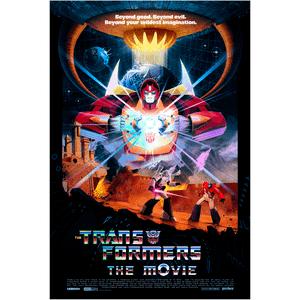 "Transformers 24x36"" Lithograph Print Holofoil Variant by Matt Ferguson"