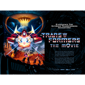 "Transformers 30x40"" Lithograph Print Quad Variant by Matt Ferguson"