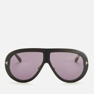 Tom Ford Men's Troy Sunglasses - Smoke Shiny Black