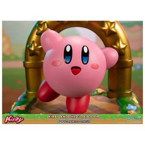 First 4 Figures Kirby and the Goal Door Kirby 9 Inch PVC Statue