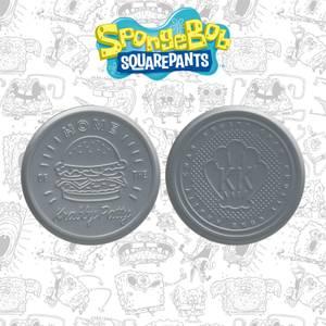 Fanattik SpongeBob SquarePants Krabby Patty Metal Drinks Coasters Set