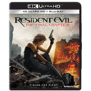 Resident Evil: The Final Chapter - 4K Ultra HD (Includes Blu-ray)
