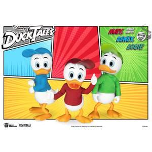 Beast Kingdom DuckTales Dynamic 8ction Heroes Figure Set - Huey, Dewey, And Louie