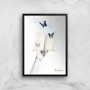 A Sense Of Butterfly Fiction Giclee Art Print