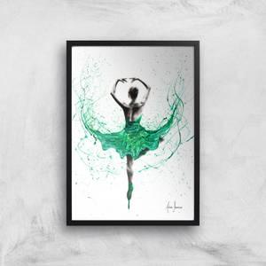 Emerald City Dancer Giclee Art Print