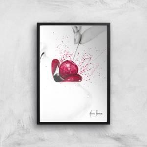 Little Sweet Cherry Giclee Art Print