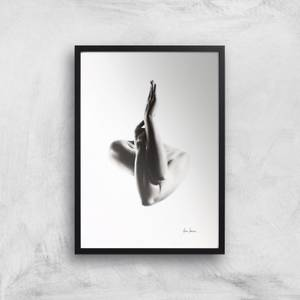 Nude Woman Charcoal Study 47 Giclee Art Print