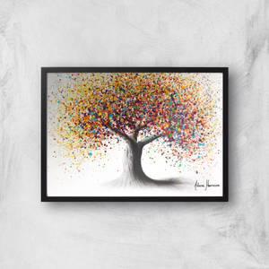 Rainbow Soul Tree Giclee Art Print