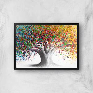 Bright Collective Tree Giclee Art Print
