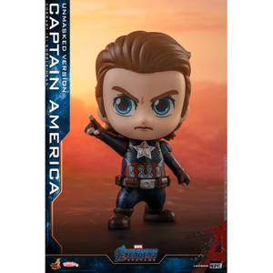 Hot Toys Cosbaby Marvel Avengers: Endgame [Size S] - Captain America (Unmasked Version)