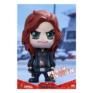 Hot Toys Cosbaby Marvel Captain America Civil War [Size S] - Black Widow