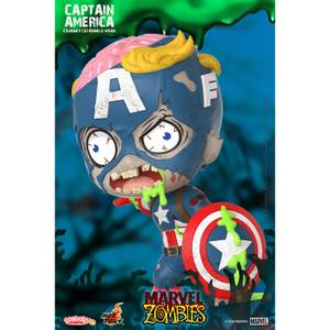 Hot Toys Cosbaby Marvel Comics [Size S] - Marvel Zombies: Captain America