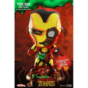 Hot Toys Cosbaby Marvel Comics [Size S] - Marvel Zombies: Iron Man (Fluorescent Colour Version)