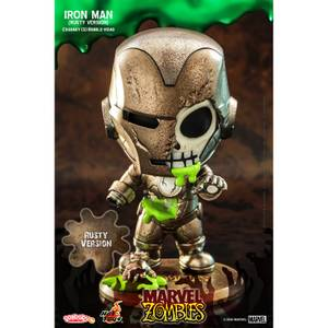 Hot Toys Cosbaby Marvel Comics [Size S] - Marvel Zombies: Iron Man (Rust Colour Version)