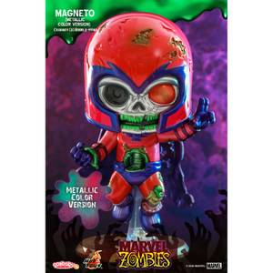 Hot Toys Cosbaby Marvel Comics [Size S] - Marvel Zombies: Magneto (Metallic Colour Version)