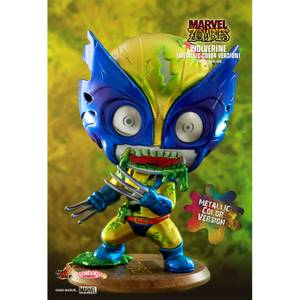 Hot Toys Cosbaby Marvel Comics [Size S] - Marvel Zombies: Wolverine (Metallic Colour Version)
