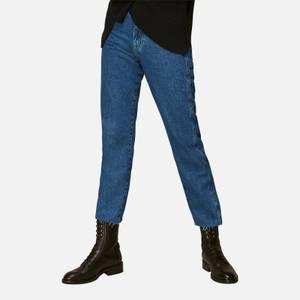 Whistles Women's Organic Stretch Slim Frayed Jeans - Denim