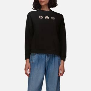 Whistles Women's Landmark Motif Relaxed Sweatshirt - Black/Multi
