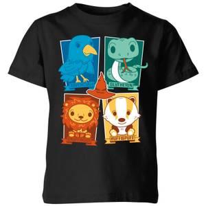 Harry Potter House T-Shirt Kids' T-Shirt - Black