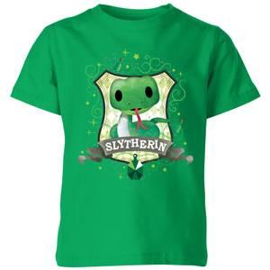 Harry Potter Slytherin Kids' T-Shirt - Kelly Green