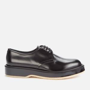 Adieu Men's Type 54C Leather Derby Shoes - Black