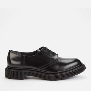 Adieu Men's Type 132 Leather Derby Shoes - Black