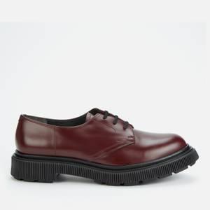 Adieu Men's Type 132 Leather Derby Shoes - Bordeaux