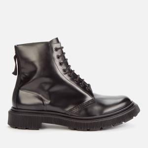 Adieu Men's X Études Type 129 Leather Lace Up Boots - Black