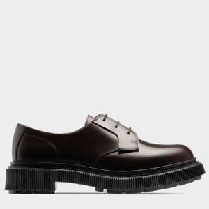 Adieu Men's X Mfpen Type 168 Leather Derby Shoes - Espresso