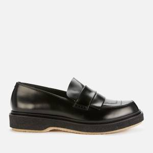 Adieu Men's X Mfpen Type 169 Leather Loafers - Black
