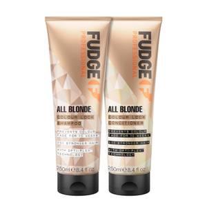 All Blonde Colour Lock Shampoo and Conditioner 250ml