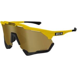 Scicon Aeroshade XL Road Sunglasses - Yellow Gloss/SCNPP Multimirror Bronze
