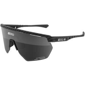 Scicon Aerowing Road Sunglasses - Carbon Matt/SCNPP Multimirror Silver